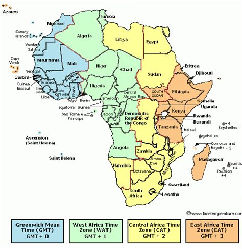 africa zone map the world s catalog of ideas