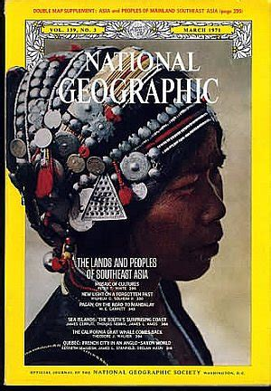 National Geographic 1971 Jual Satuan backissues national geographic march 1971 product details