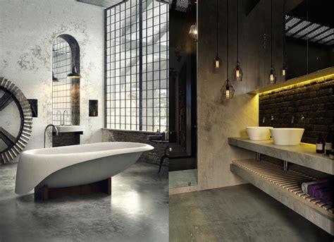 inspiring industrial bathroom ideas feed inspiration