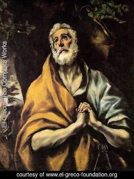 el greco fallacy wikipedia el greco the complete works the repentant peter c 1600 el greco foundation org