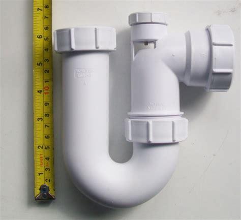 p trap sink mcalpine anti vac 1 1 2 40mm kitchen sink p trap sc10v