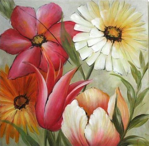 fiori quadro quadro 31537 fiori colorati 60x60 idea luce di filippi