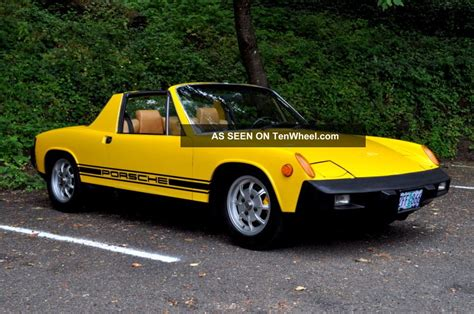porsche 914 fuel injection 1975 porsche 914 2 0 fuel injection targa fresh and a