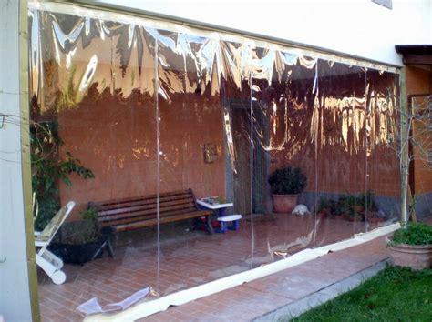 verande in plastica 187 tende trasparenti per balconi prezzi