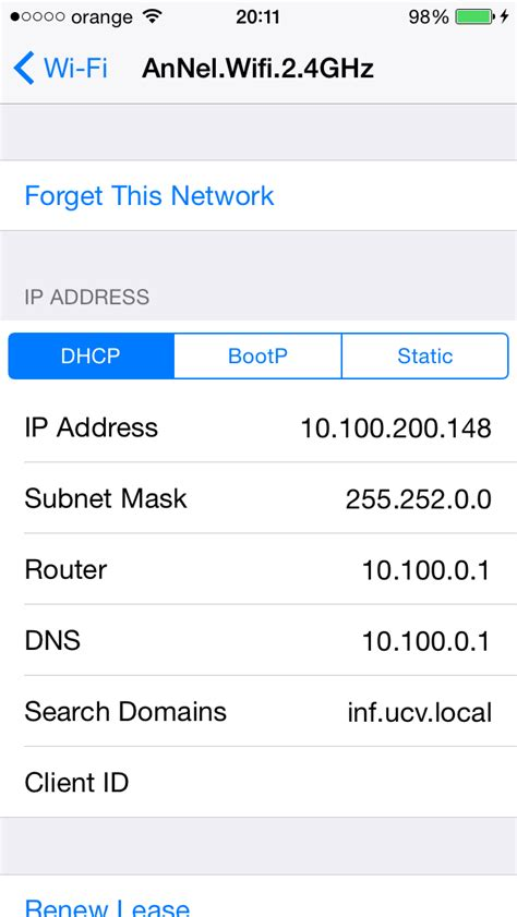 Ip Address Info Lookup Objective C Get Dns Server Ip Address And Search Domain From Ios Stack Overflow