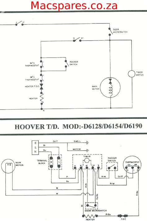 hoover washing machine motor wiring diagram wiring