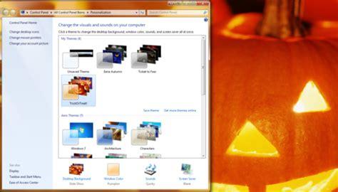 microsoft desktop themes halloween how to install spooky halloween windows themes sound