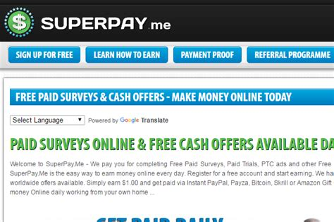 Paid Online Surveys Legit - make money with internet paid market research surveys