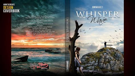 Buat Desain Cover Buku | tutorial desain cover buku novel di photoshop youtube