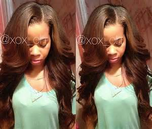sew in with color 17 best images about sew in hair styles on