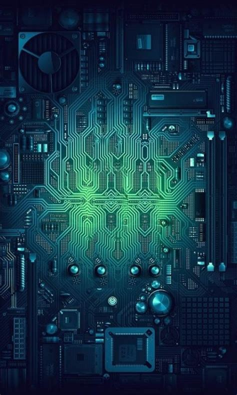 Circuit Board Wallpaper Iphone 6 7 5 Xiaomi Redmi Note F1s Oppo S6 S7 amazing wallpapers cool wow wallpaper cyberpunk and mobile wallpaper