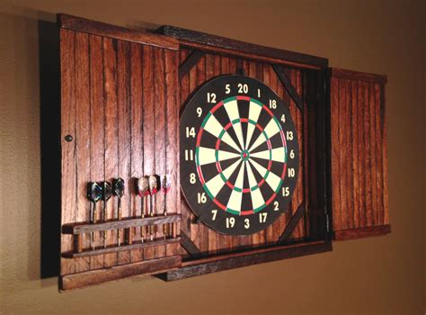 White Dartboard Cabinet by Diy Dartboard Cabinet Mf Cabinets