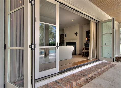 Patio Doors That Slide Into Wall 1000 Ideas About Sliding Patio Doors On Glass