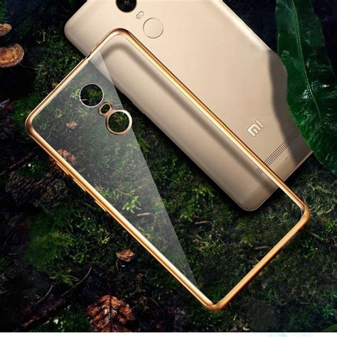 Xiaomi Redmi 3 Tpu Silicon Plated Frame xiaomi redmi note 3 iphone 5 5s 6 6s plated frame end 4