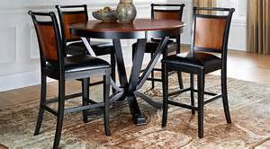 Dining Room Table Top Protectors orland park black 5 pc counter height dining set dining
