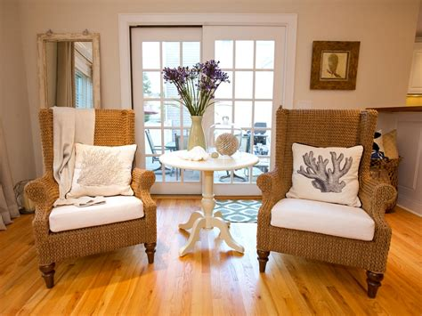 Wicker Living Room Chairs | photos hgtv
