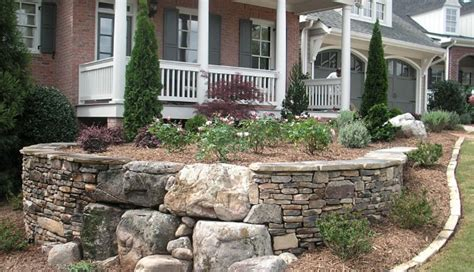 retaining wall to level backyard frontyard landscaping 2