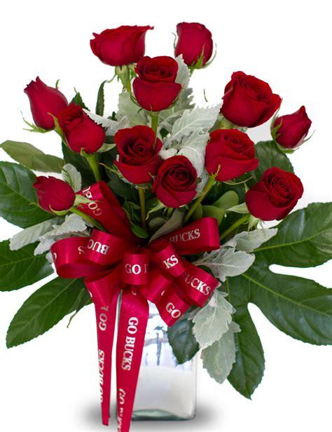 ohio state buckeye fan ohio state buckeye fan roses columbus oh florist