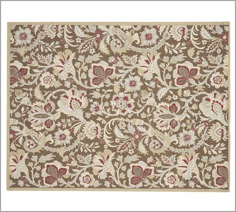 New Pottery Barn Handmade Persian Emerson Area Rug 8x10 Pottery Barn Area Rugs