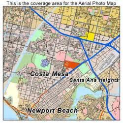 map of costa mesa california aerial photography map of costa mesa ca california