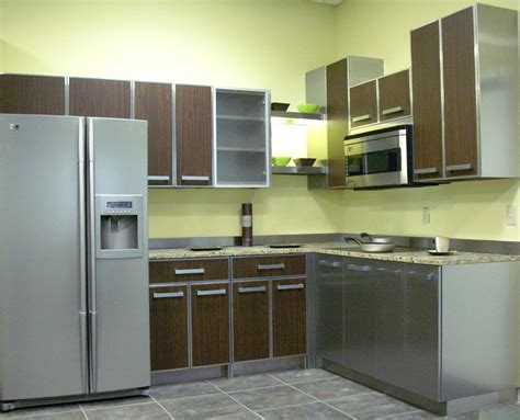 Stainless Steel Kitchen Cabinets Ikea Home Design Ideas