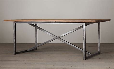 Restoration Hardware Dining Table Restoration Hardware Salvaged Boatwood Rectangular Dining Table Cococozy Cococozy