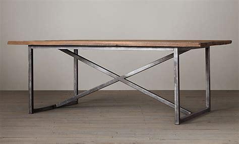 Restoration Hardware Salvaged Boatwood Rectangular Dining Restoration Hardware Dining Table