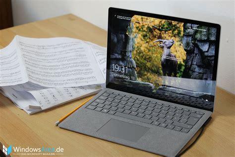 test laptop surface laptop test das zweitbeste notebook microsoft