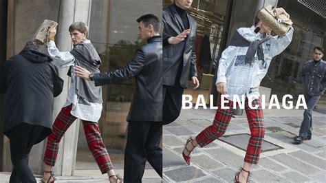 balenciaga s 2018 caign are convincing mock paparazzi fashionista