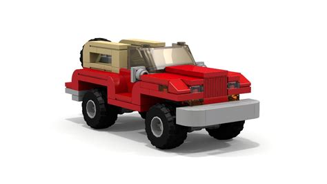 Jeep Wrangler Lego by Lego Jeep Moc Tutorial