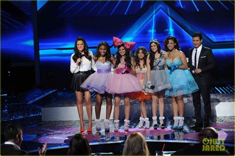 x factor group fifth harmony attempts to make a name for daydream stars fifth harmony x factor finale