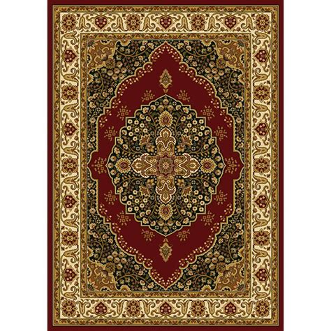 4 X 9 Area Rug Home Dynamix Royalty Ivory 1 Ft 9 In X 7 Ft 2 In Indoor Area Rug 4 Hd2319 215 The Home