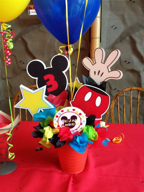Mickey Mouse Clubhouse Birthday Centerpieces Google Centerpieces For Mickey Mouse Birthday