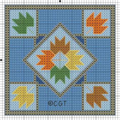 Printable Quilt Stitch Patterns | free maple leaf quilt block inspired patterns free