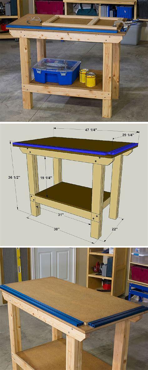 25 best ideas about workbench plans on pinterest workbench ideas work bench diy and garage
