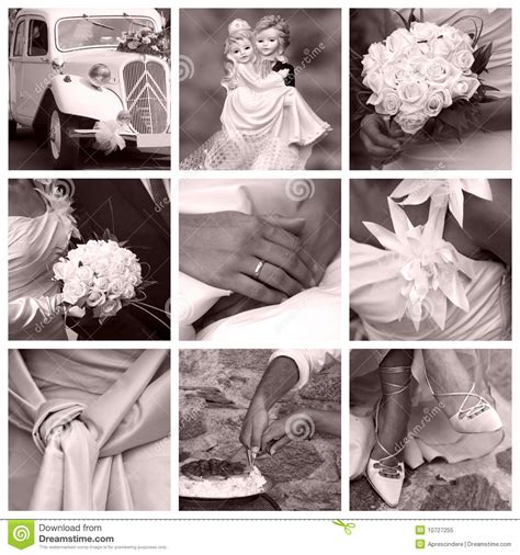 Wedding Album Concept by Wedding Concept Collage Royalty Free Stock Photo Image