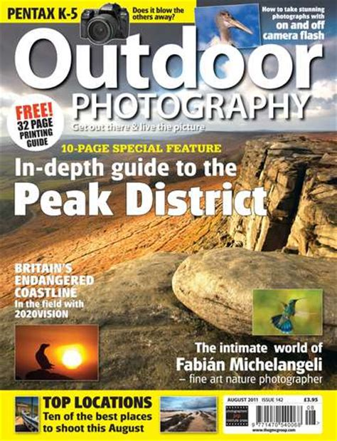 Landscape Photography Magazine Pdf Photograph On The Front Cover Of Outdoor Photography