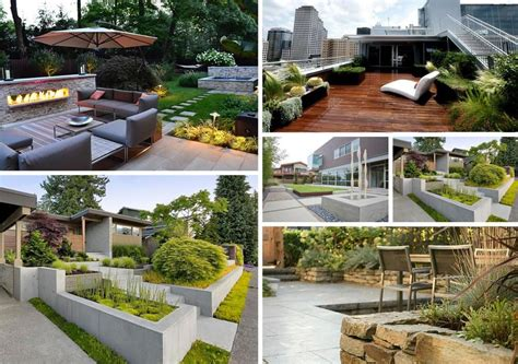 Modern Gardens Ideas Modern Garden Design Ideas Olpos Design