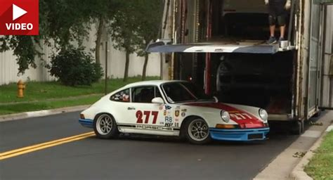 Porsche 944 Crash by Porsche Tuner Magnus Walker Crash His Favorite 911