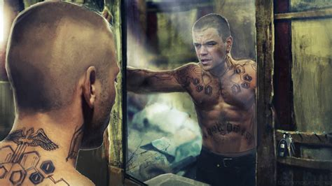 matt damon tattoo matt damon elysium tattoos www pixshark images