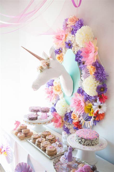 unicorn themed birthday party ideas kara s party ideas whimsical unicorn birthday party kara