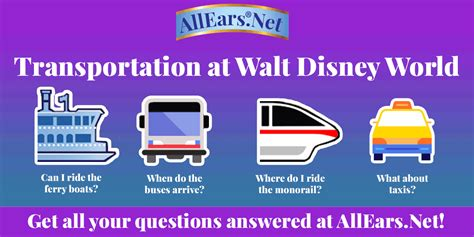 boat names disney disney world transportation vehicles monorail ferry