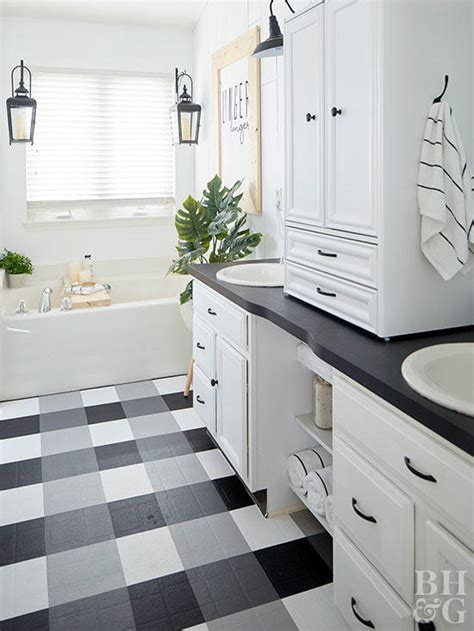 beautiful plaid floors inexpensive options