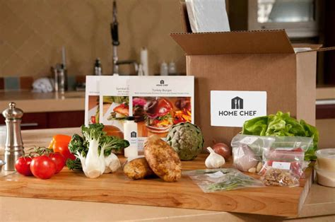 home chef find subscription boxes