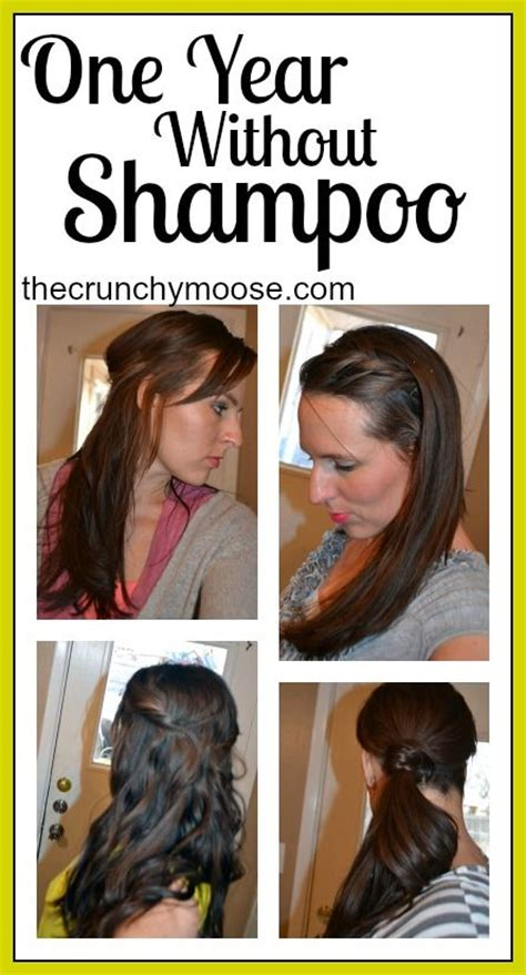 one year without shoo the no poo method the crunchy moose pinterest the world s catalog of ideas