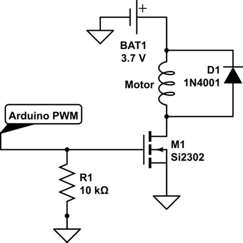 speed of a dc motor using pwm arduino of a coreless dc motor using a pwm and a