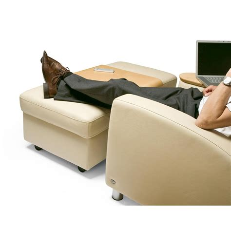 ottoman use stressless double ottoman from 950 00 by stressless