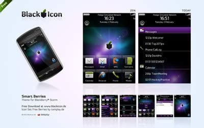 themes for blackberry storm 2 smart berries free theme for blackberry storm storm2