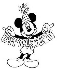 mickey mouse birthday coloring pages print 1258 mickey mouse birthday coloring pages
