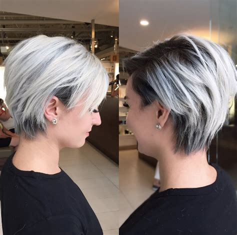stacked shaggy haircuts 40 short summer haircuts for women with fine hair style